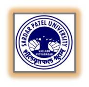 Sardar Patel University Teaching Posts Recruitment Application Form