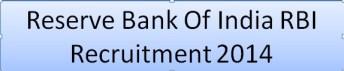 RBI Recruitment 2014