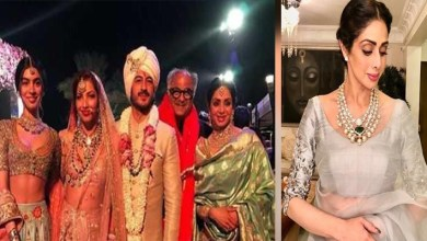 Photo of The Last Days of Life, Sridevi had Expressed This Desire, Which Went unfulfilled