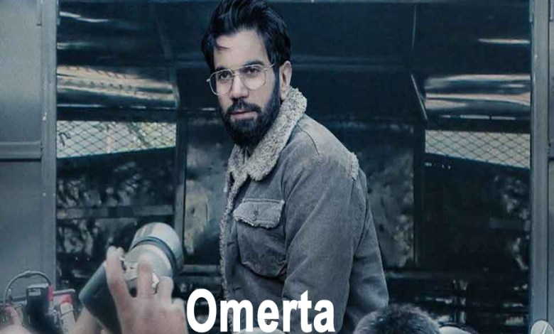 Omerta Movie Review | New Poster Release | See Photo