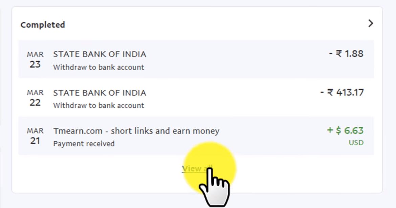 Tmearn App | Online Free Earn Money With Shorten Link