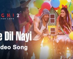 Soniye Dil Nai Lagda Video Song | Ek Do Teen Video Song| The Best Two Song Baaghi 2 song