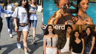 Photo of Shahrukh Khan Daughter: Doing Fun on The Swimming Pool With Friends