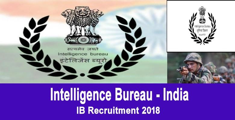 IB Recruitment 2018