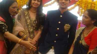Photo of Kinjal Dave Engagement with Pawan, Kinjal Dave Engagement Photo Viral