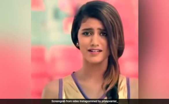 Priya Prakash Varrier: Attitude Shows on Internet. Video Viral, Ad video