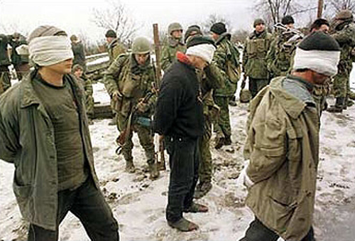 Chechnya. Russian murders.