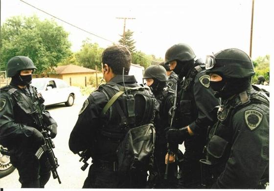 S.W.A.T. Team, San Bernardino Police