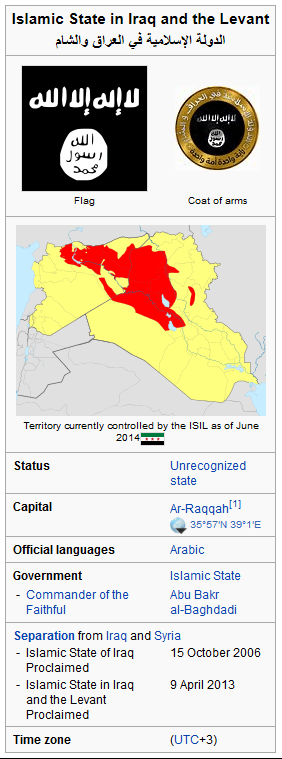From ISIS' Wikipedia entry