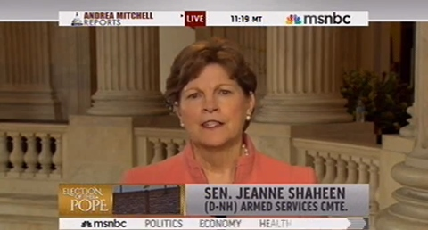 The kind of person who should be effecting military policy? Or, any?