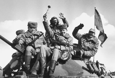 The withdrawal of Soviet troops from Afghanistan. Courtesy of the ITAR-TASS News Agency.