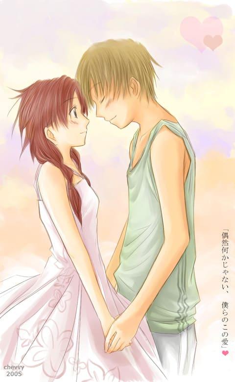 5 Magnifiques Dessins D Amour En Style Manga