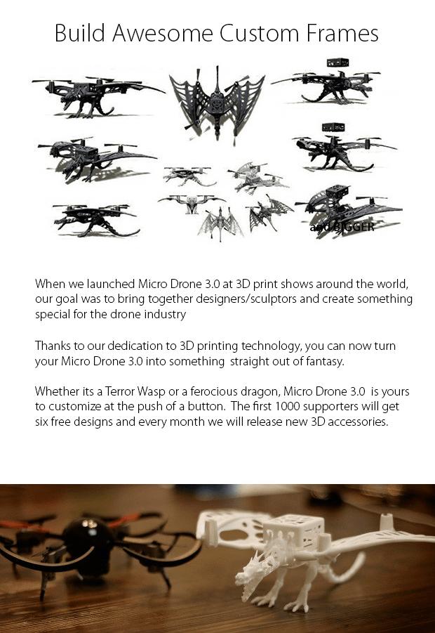 Custom Frame Micro Drone