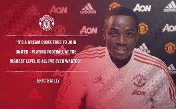 Gambar Eric Bailly Manchester United