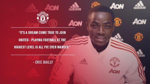 Gambar Eric Bailly Manchester United