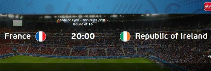 Gambar Hasil Pertandingan Perancis vs Irlandia
