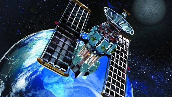 Gambar Satelit di Luar Angkasa