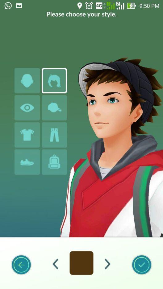 Gambar Avatar Pokemon Go