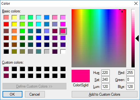 Gambar Color Picker dengan HTML 5