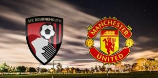 Gambar Ilustrasi pertandingan Bournemouth vs Manchester United