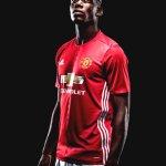 Gambar Paul Pogba di Manchester United