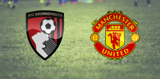 Gambar Pertandingan Bournemouth vs Manchester United