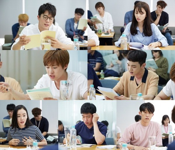 Drinking Solo first script reading via hancinema