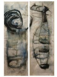 defragment 2,5 x 1 m ink on Canvas