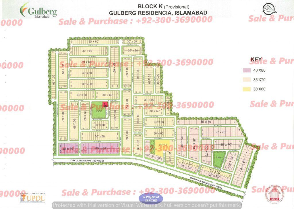 Gulberg Residencia Islamabad Block K