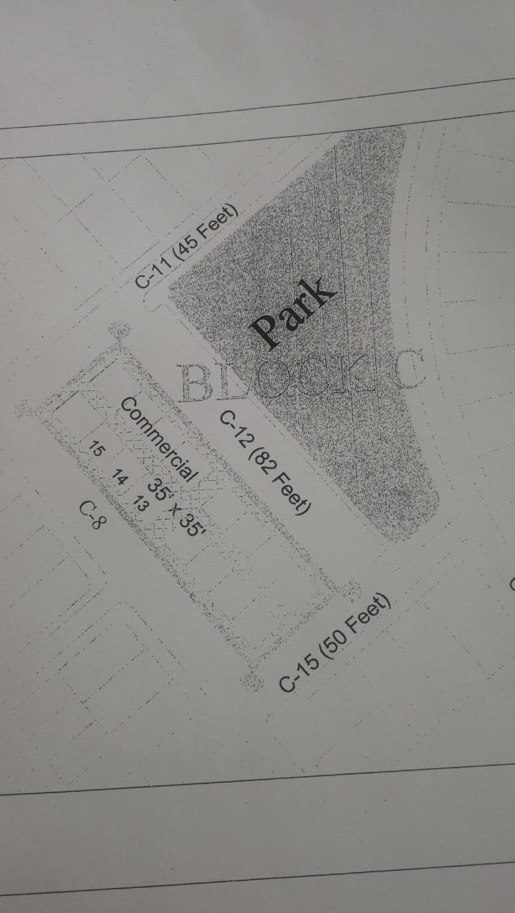 Block C Commercial Plots Gulberg Islamabad