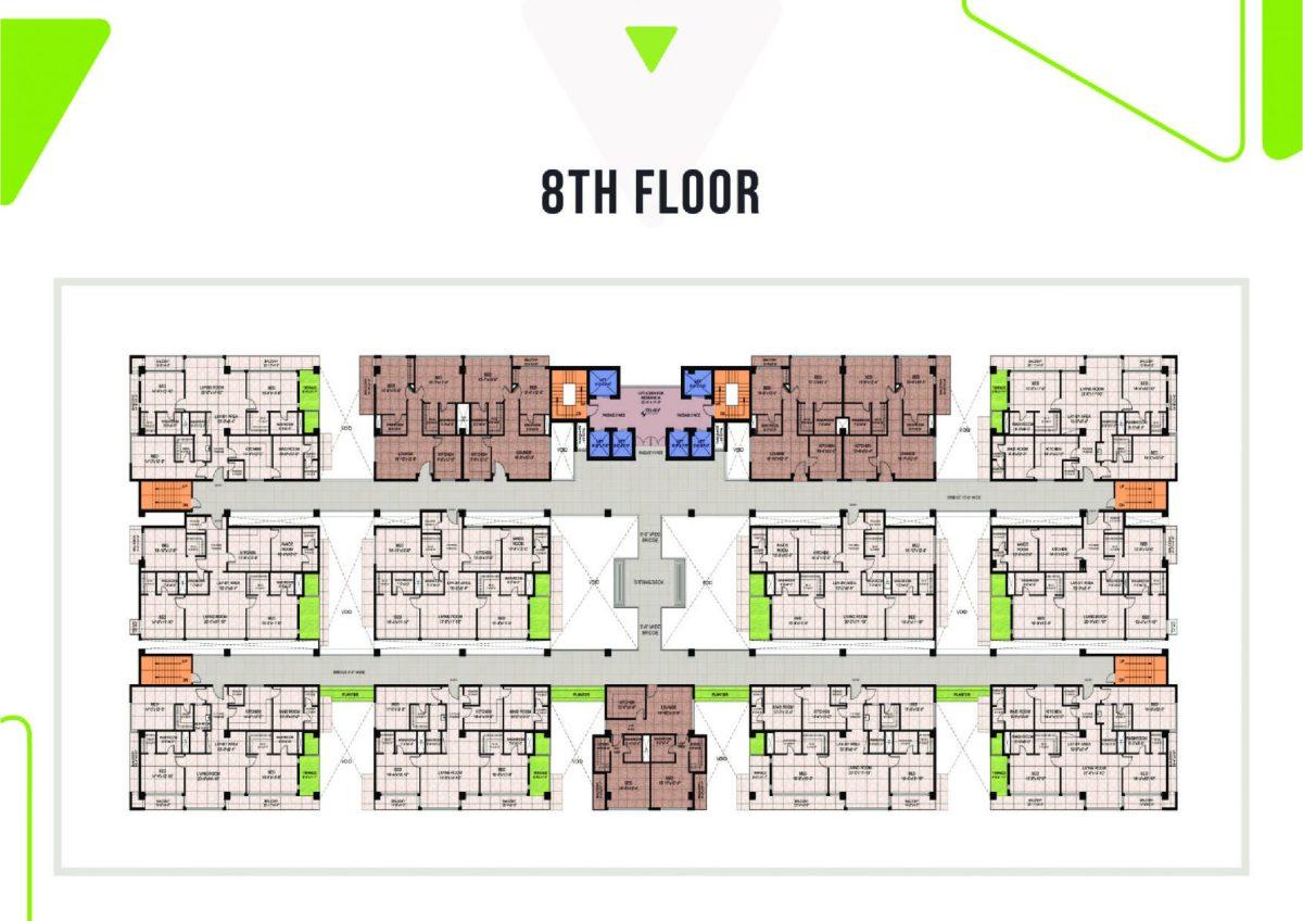 8th floor plan