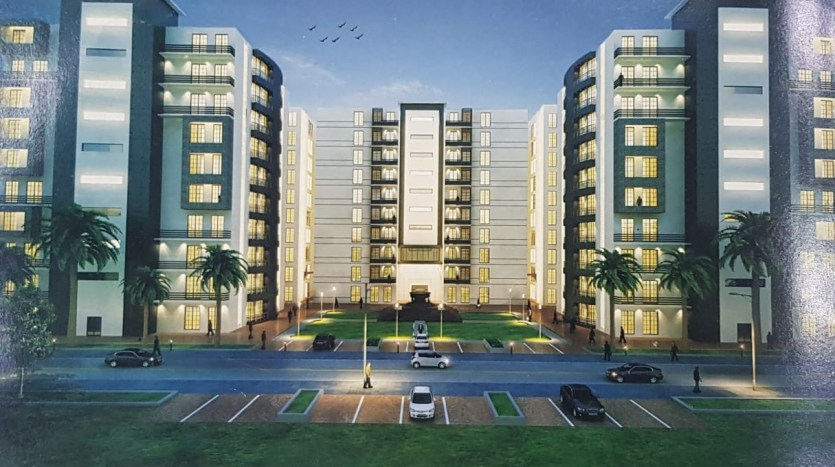 Gulberg Dream Heights Front Elevation