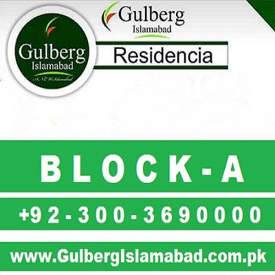 gulberg residencia block a