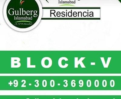 gulberg residencia block v