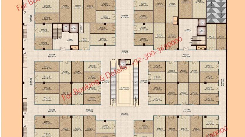 D 8 Heights Gulberg Lower Ground Floor
