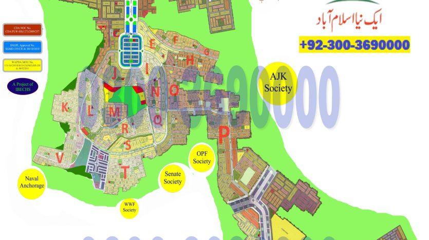 Gulberg Residencia Map
