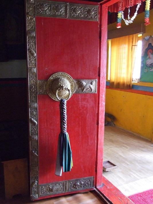 The open door, KeyGompa