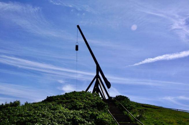 Gammelt fyrtårn i Skagen