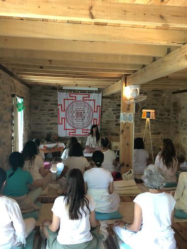 YogANA Meditasyon Eğitmenliği Eğitimi Gülenay Pema