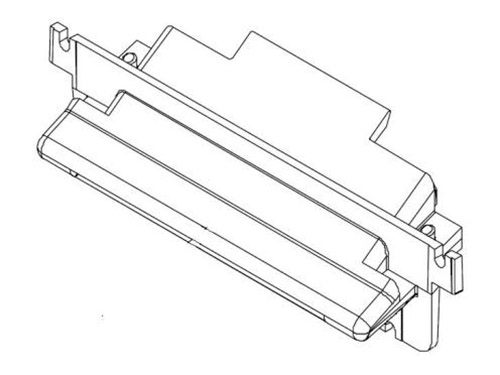 445-0643360, SCIF INTERFACE BOARD&I/C BLOCK ASSEMBLY