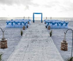 mariage sur la plage de tampa