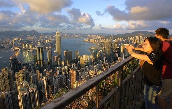 HONG KONG-PROPERTY-IFC-PEAK