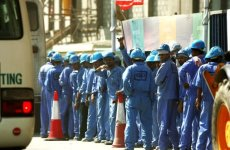 Foreign Workers Queue To Quit Saudi Arabia