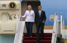 Hillary Clinton Flies To Middle East For Gaza Talks