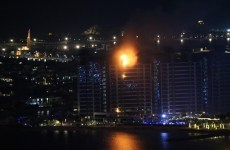 No injuries after fire breaks out at Dubai's Palm Jumeirah building