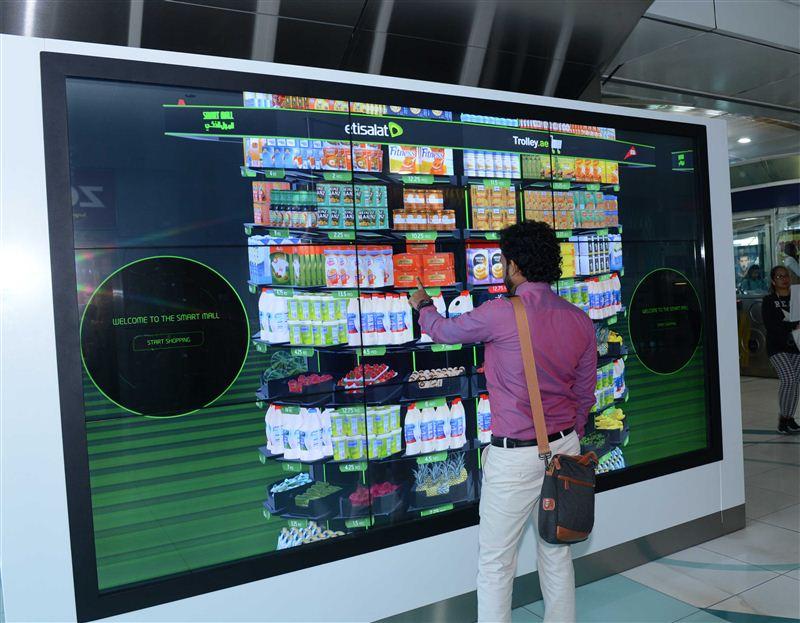 Dubai's RTA and Etisalat introduce smart malls at metro