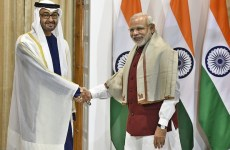 Sheikh Mohammed begins three-day India visit