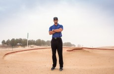Tiger Woods reviews Dubai golf course progress with developer Damac