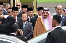 Saudi King Salman begins 12-day Indonesia visit under tight security