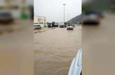 Parts of the UAE hit by heavy rain